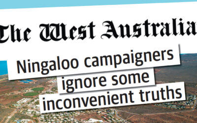 Ningaloo campaigners ignore some inconvenient truths
