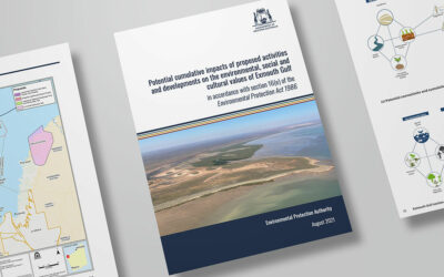 Cumulative Impact Assessment by the Environmental Protection Authority